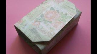 Как Сделать Из Бумаги Подарочную Коробку Своими Руками. Gift Box(Показываю и рассказываю, как сделать из бумаги подарочную коробку 2 в 1 своими руками. Сердечные Подарки..., 2014-06-06T19:50:10.000Z)
