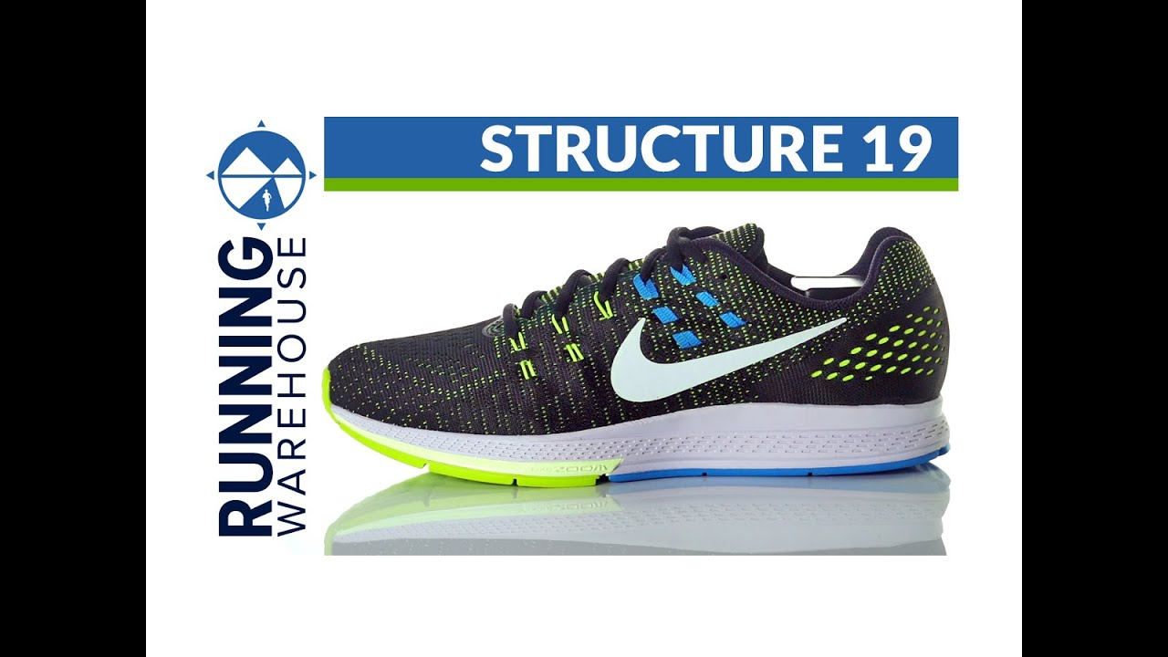 6cca09e09bd4b Nike Zoom Structure 19 for men - YouTube