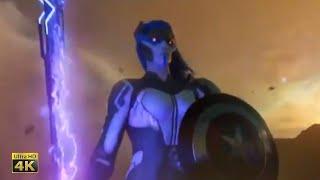 Тор и Капитан Америка против Проксимы. Война бесконечности - альтернативные сцены моменты