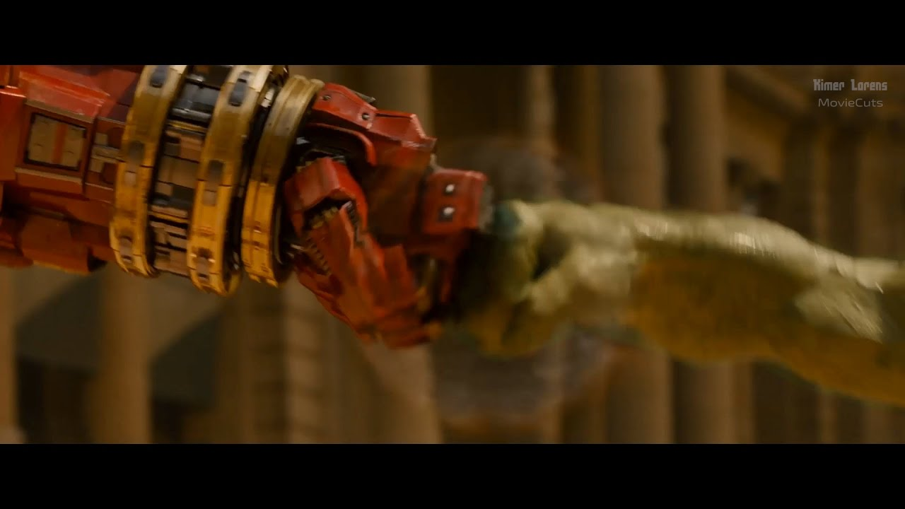 Download Avengers: Age of Ultron (2015) -  Iron Man vs Hulk - Pure Action [4K]