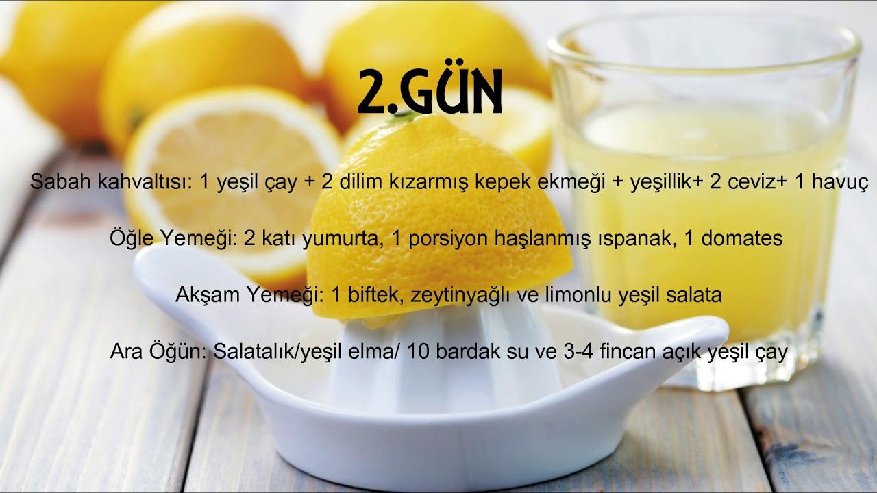 Limon Diyeti İle Zayıflama