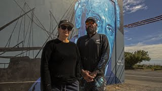 South Sea Spray - Artist Janine Williams