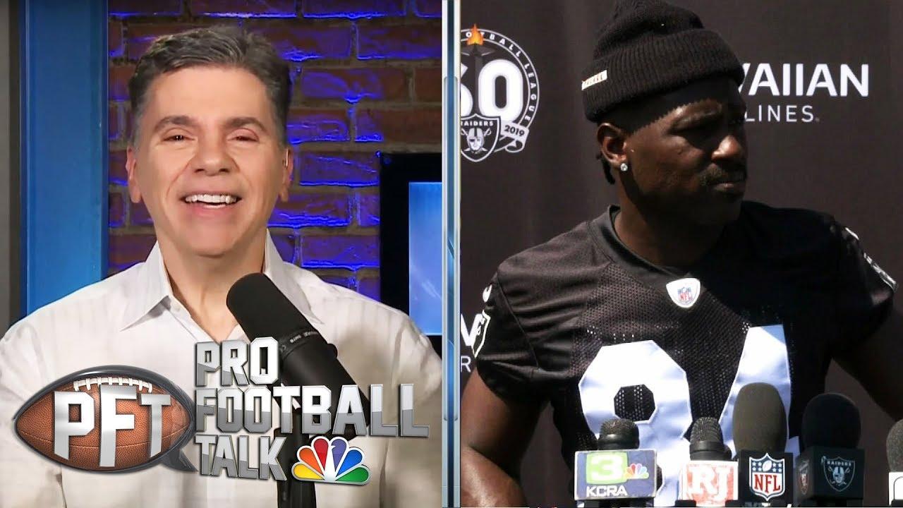 When will Antonio Brown return to Raiders' practice?   Pro Football Talk   NBC Sports