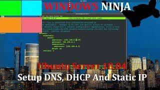 Ubuntu Server 18.04 - Setup DN…