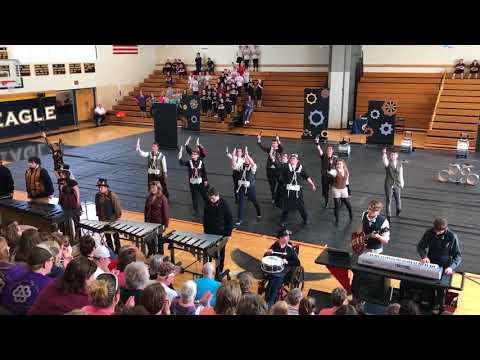 Bellefonte Area High School - Indoor Drumline 2017
