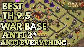 BEST TH 10 WAR BASE 2018 WITHOUT INFERNOS - CLASH OF CLANS |ANTI 3 STARS|