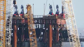 Керченский мост, 8 октября 2017, Фарватер