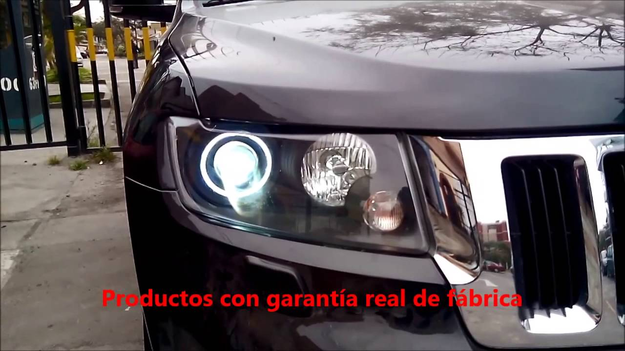 Faros Personalizados Jeep Grand Cherokee 2012 Youtube