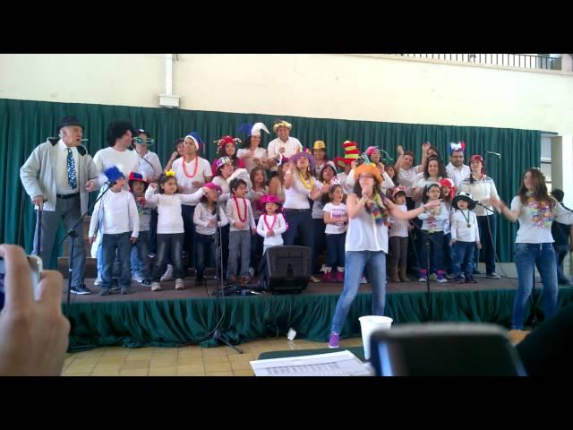 Cantar Familiar 2014 - 1° B