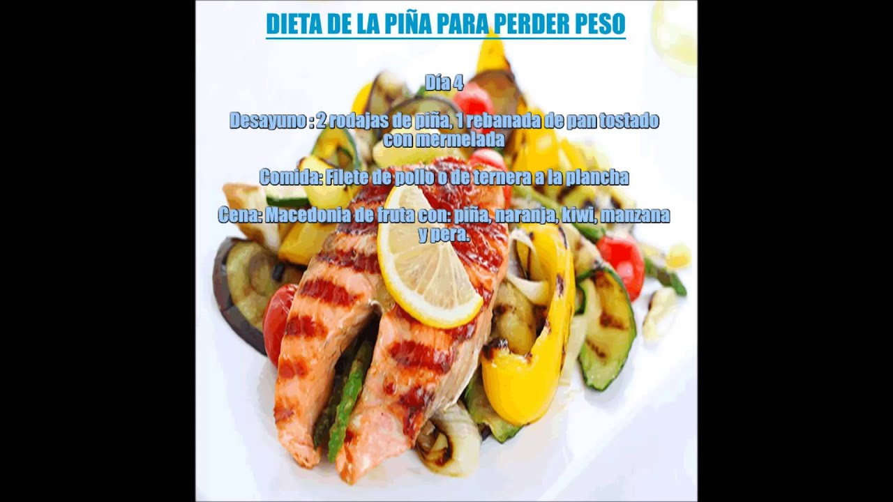 dieta de la piña para adelgazar rapido