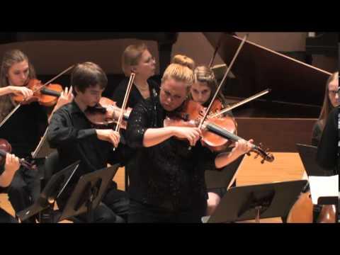 Telemann Viola Concerto in G major, Rose Armbrust Griffin