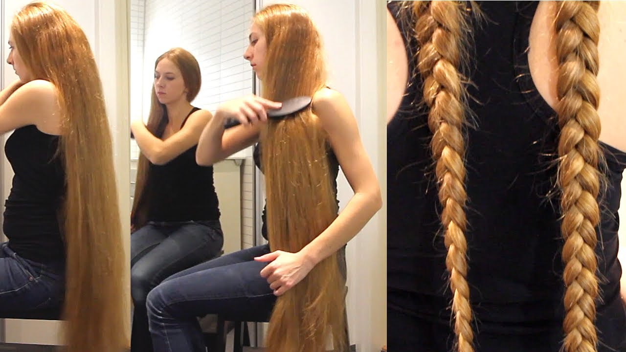 Realrapunzels Very Long Double Dutch Braids Preview