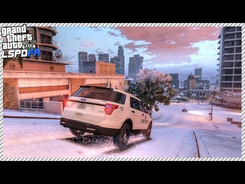 GTA 5 LSPDFR #12 | Snow Patrol