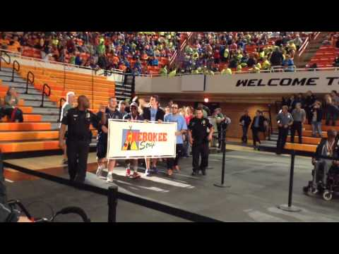 Stillwater Special Olympics opening ceremony 2015