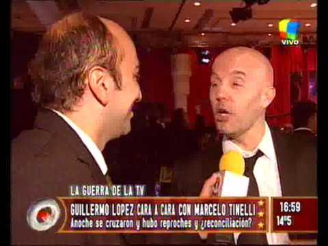 Marcelo Tinelli Contra Guillermo Lopez El Pelado de CQC y Zapping