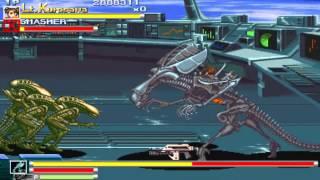 Aliens vs Predator ARCADE 1080P HD Playthrough - ROUND 7 - HUNT