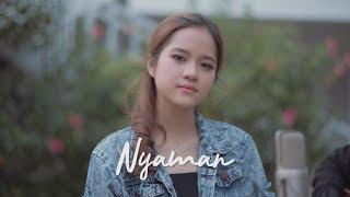 NYAMAN - ANDMESH ( Ipank Yuniar ft. Patricia Lourence Cover & Lirik )