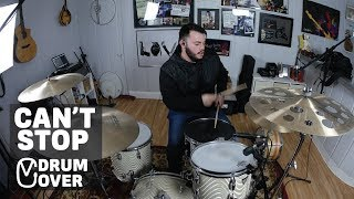 Red Hot Chili Peppers X Can't Stop X Drum Cover ✔️