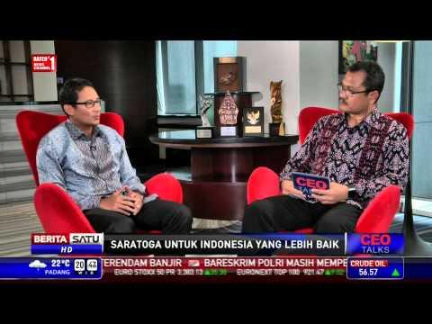 CEO Talks: Saratoga untuk Indonesia Lebih Baik