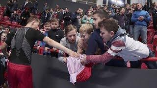Казань встретила сборную!