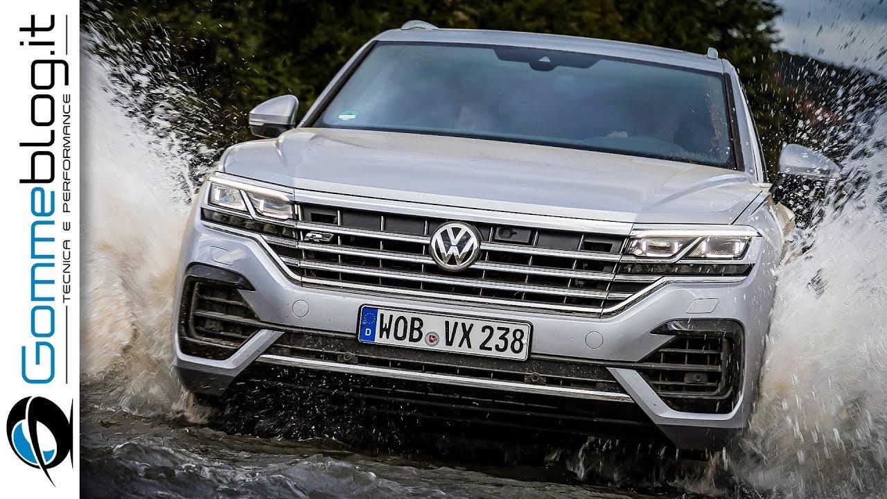 2019 volkswagen vw touareg offroad test drive