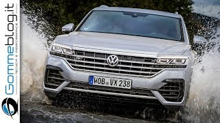 2019 Volkswagen VW Touareg OFFROAD TEST DRIVE