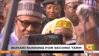 Buhari running for second term in Nigeria