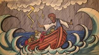 Speed Sketch Bible Stories: Jesus Calms the Storm (Narration)