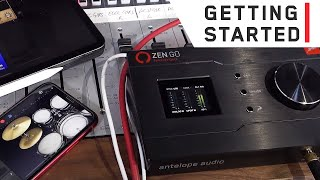 How to Use the Zen Go Synergy Core Interface with iOS Devices - Tutorial