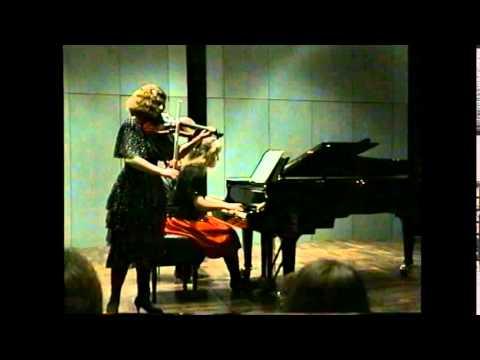 Mozart: Violin Sonata KV 378 - Natalia Prishepenko (violin) - Vera-Carina Stellmacher (piano)