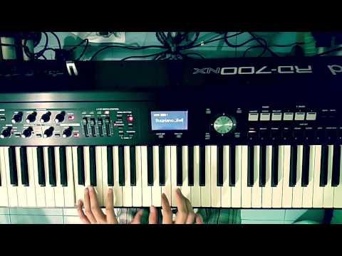 รักไม่ต้องการเวลา Piano cover by Bellpianopop ^ ^