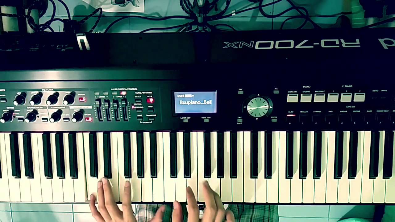 รักไม่ต้องการเวลา - Klear (Piano cover) by Bellpianopop ^^