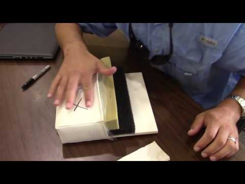 Sunrise Marine shows you the layers of Chaparral Upholstery