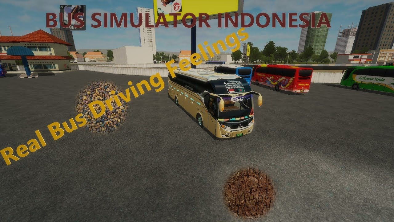 🥇 bus simulator indonesia mod(bussid) -Android Bus Driving #26