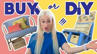 Buy vs. DIY Balcony Makeover Challenge feat. Lauren O'Neil