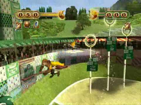 Harry Potter Quidditch World Cup: Hufflepuff vs Slytherin