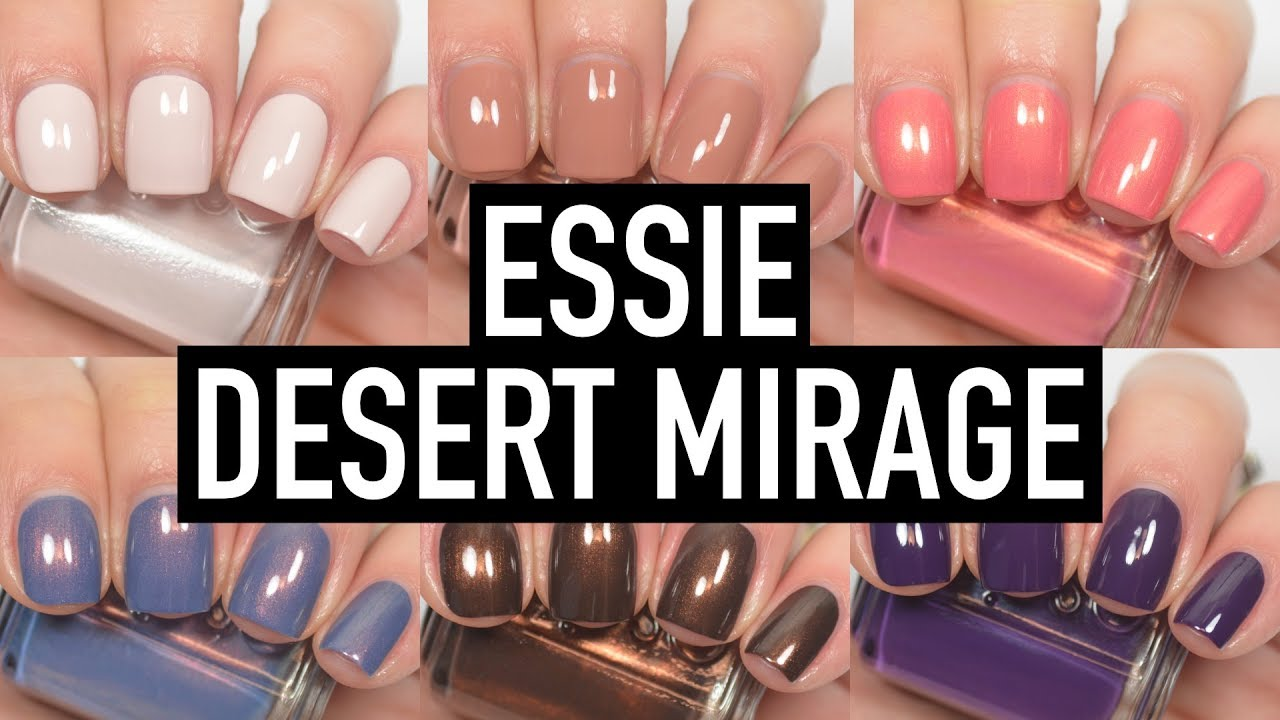 Essie - Desert Mirage | Swatch and Review - YouTube