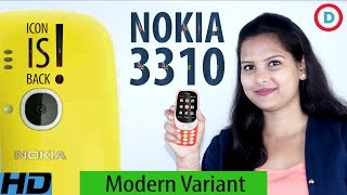 Nokia 3310 Modern Variant - The Icon Is Back (Hindi) | True Opinion On Price, Design & More Specs