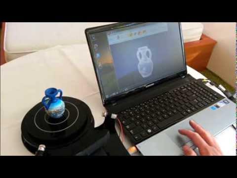 0 - Rubicon 3D Scanner auf Indiegogo