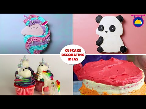 Cupcake Decorating Ideas   FUN And EASY Food Hacks   DIY Cupcake Recipes by Deli Wow