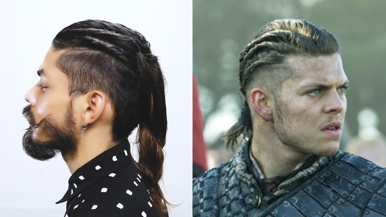 how to do ivar hairstyle from vikings series - youtube