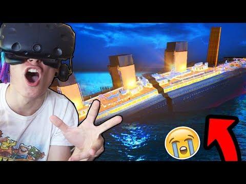 КРУШЕНИЕ ТИТАНИКА В ВИРТУАЛЬНОЙ РЕАЛЬНОСТИ!!! (TITANIC VR)
