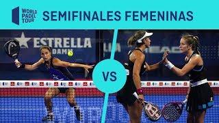 Semifinal Femenina Amatriaín/Llaguno Vs Marrero/Ortega Estrella Damm Madrid Open | World Padel Tour