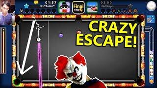 8 Ball Pool- INSANE TRICKSHOT ESCAPE- Halloween Tournament w/Black Hole Cue