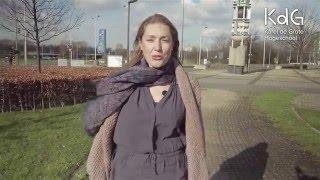 Alumnus Liesbeth De Groof werkt als administratief bediende bij een sociale huisvestingsmaatschappij