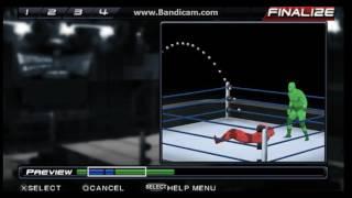 WWE SVR 11 كيفية إنشاء أنماط AJ الهائل الساعد