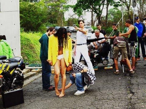Detrás de Cámara del film KM 72, de Samuel Henríquez