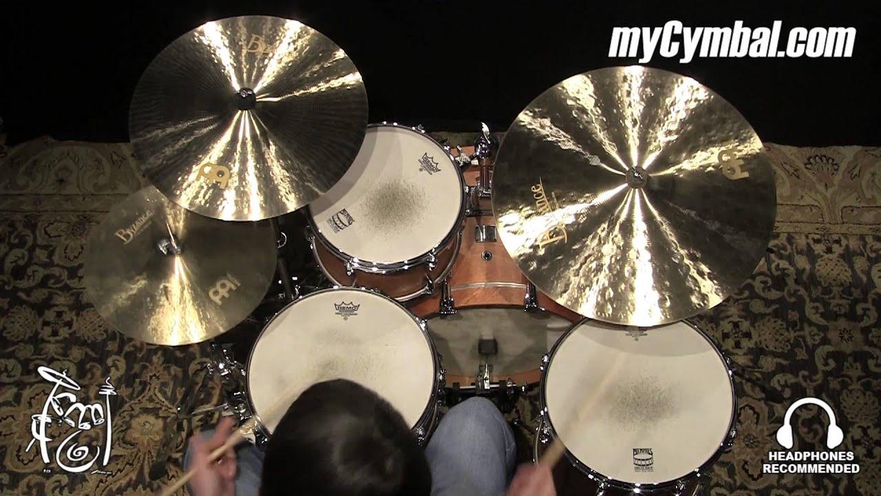 meinl 22 byzance jazz medium thin ride cymbal b22jmtr 1120914ee youtube. Black Bedroom Furniture Sets. Home Design Ideas