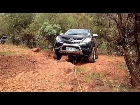 Mazda BT50 in Hennops 4x4 Trail