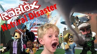 Best Roblox Gameplay for PC- Natural Disaster Let's play survival!!!